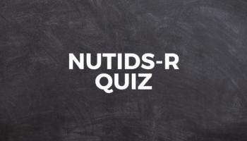 NUTIDS-R-QUIZ # 1 1